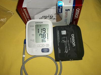 OMRON BP742N presión arterial.