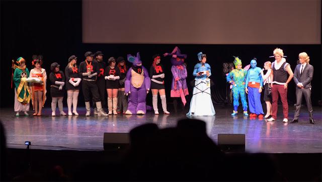 cosplay esityskilpailu animecon 2013