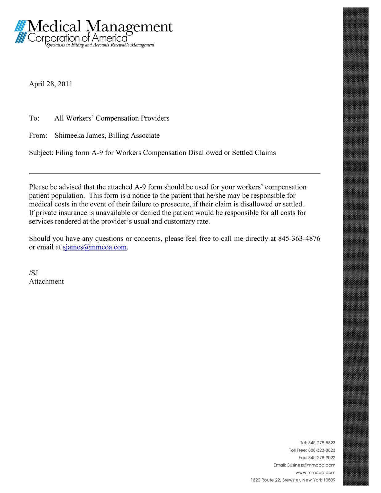 cover letter for medical office specialist Medical billing specialist cover letter sample | sample we provide cover letters, resume samples and cv examples for giver below is a medical billing specialist cover letter sample that you may modify as i am offering my services for the same as i believe my capabilities in supervising billing procedures and handling remittances will.