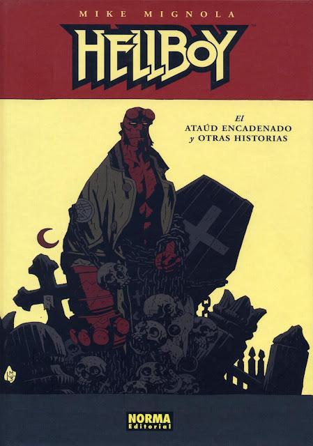 Portada del Tomo 3 Cartoné de Hellboy Editorial Norma