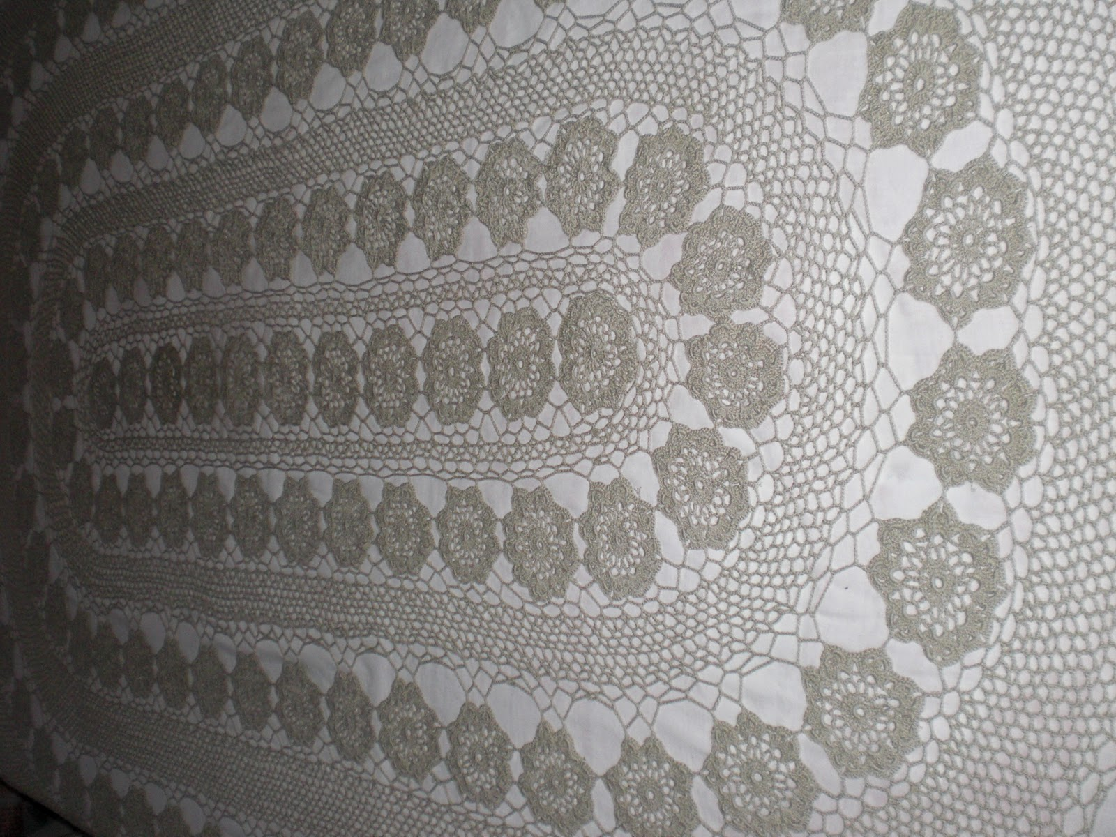 Manteles ovalados tejidos a crochet patrones gratis - Imagui