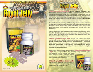 natural lyophilized royal jelly nasa