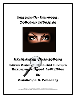 Lesson-Up Express: October Intrigue cover