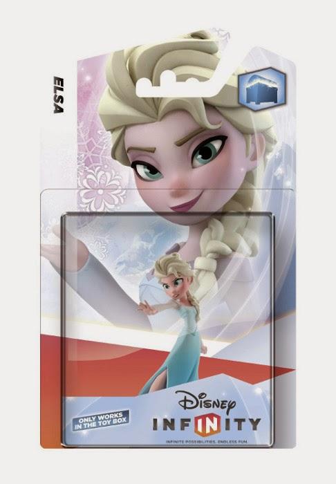 TOYS - DISNEY Infinity - Figura - Muñeco Elsa : Frozen Producto - Juguete Oficial | Disney | A partir de 7 años