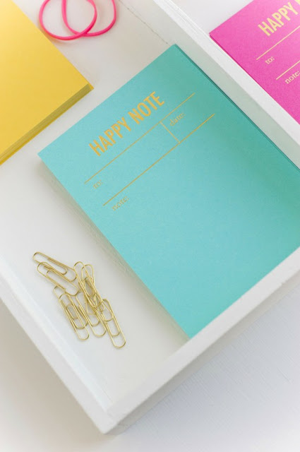 happy note notebooks + beautiful colors