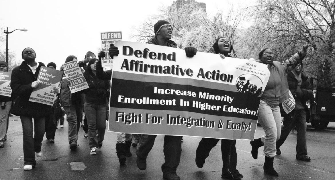 affirmative action an unfair advantage Employment discrimination and affirmative action: affirmative action plans many people feel that affirmative action plans give an unfair advantage to.