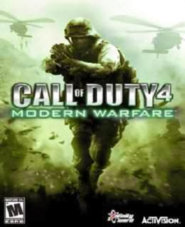 Call of Duty 4 - Modern Warfare Cover, Poster