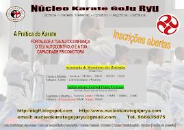 Cartaz Núcleo de Karate GoJu Ryu