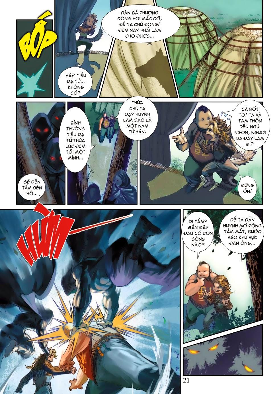 Thần Binh Tiền Truyện 4 - Huyền Thiên Tà Đế chap 3 - Trang 21