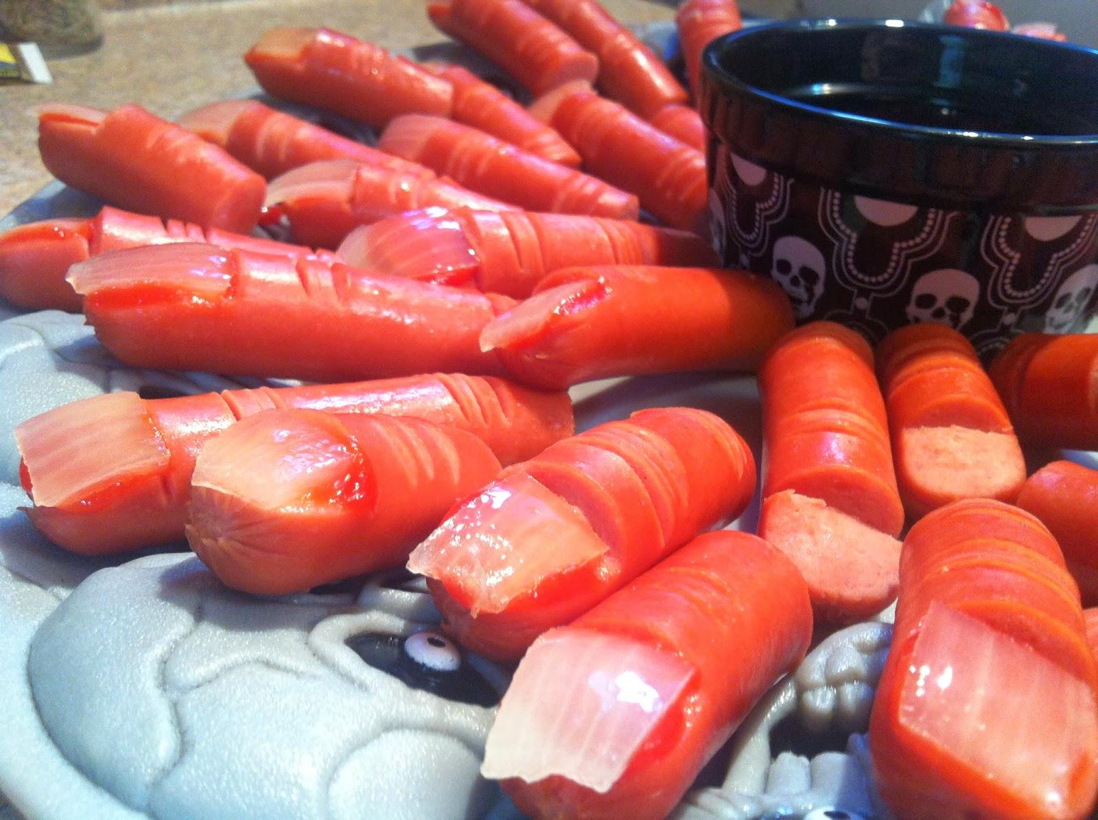 My Food Infatuation: Halloween 'Finger' Food!!
