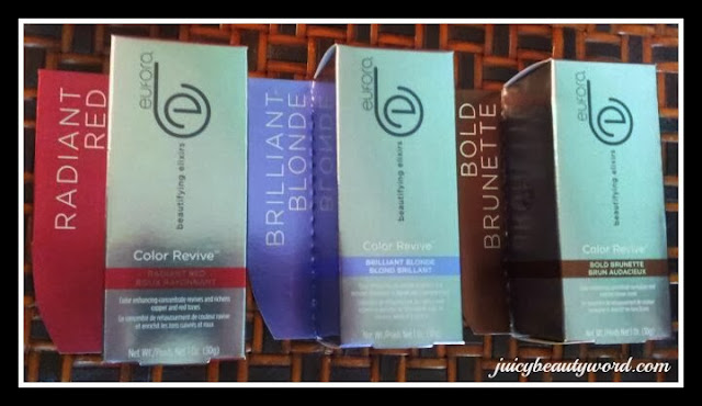 eufora beautifying elixers color revive