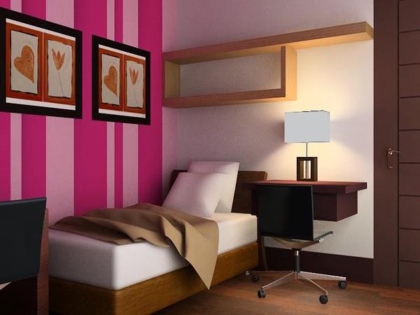 Ragam inspirasi Desain Interior Kamar Tidur Rumah Minimalis 2015 yang fungsional