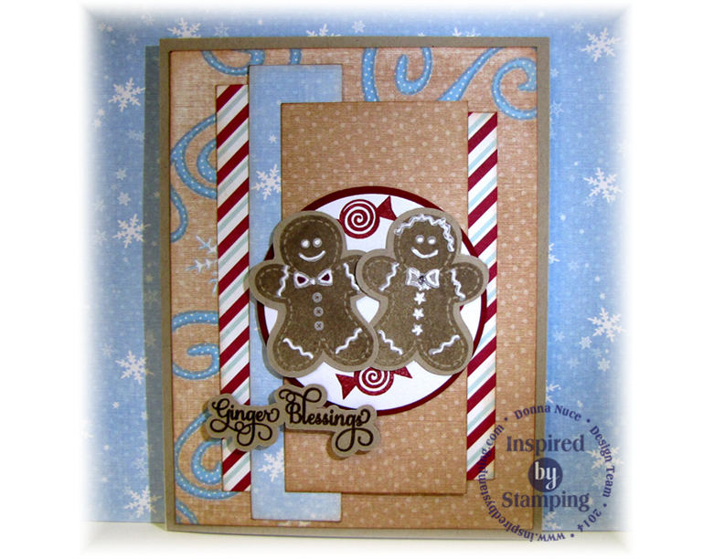Inspired by Stamping, CraftyColonel, Sugar and Spice, Christmas Card