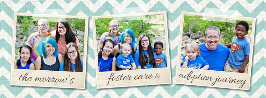 The Morrow's Adoption & Foster Care Journey