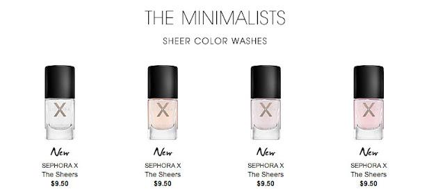 sephora x minimalists