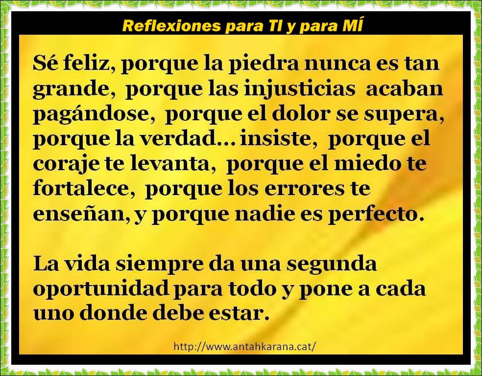 Únete en facebook ---> Reflexiones para TI y para MI ♥ ♥ ♥