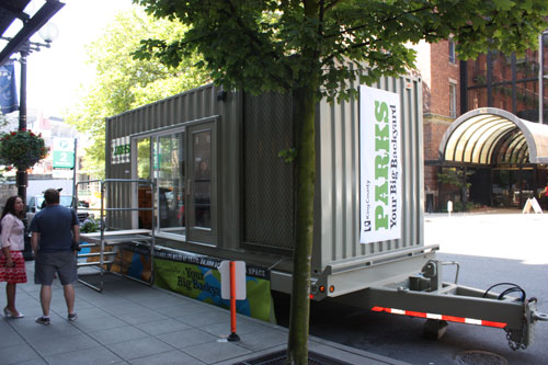 Shipping container homes king county parks seatlle shipping container camping pod - Container homes seattle ...
