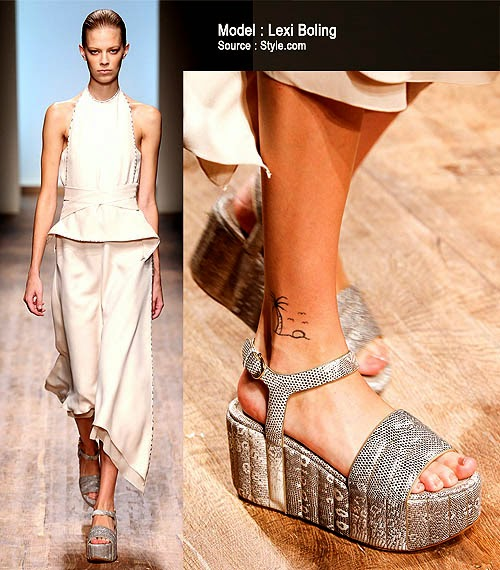 Model Wedges Trend 2015
