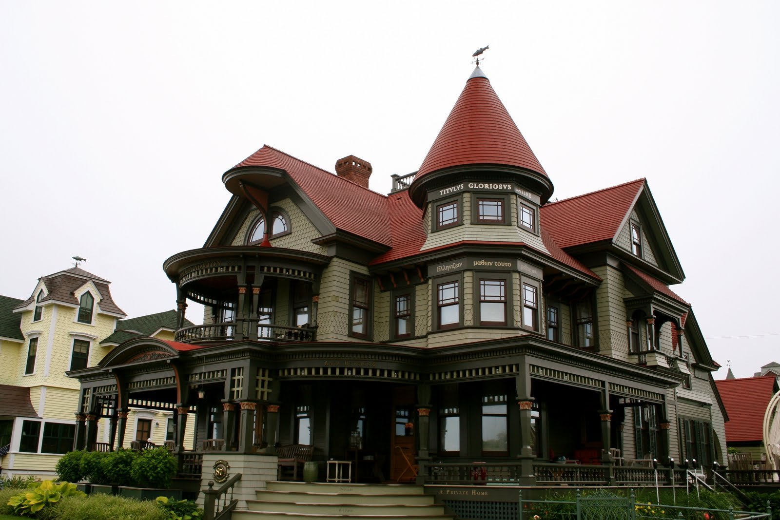Free home plans queen ann house plans for Queen anne victorian house