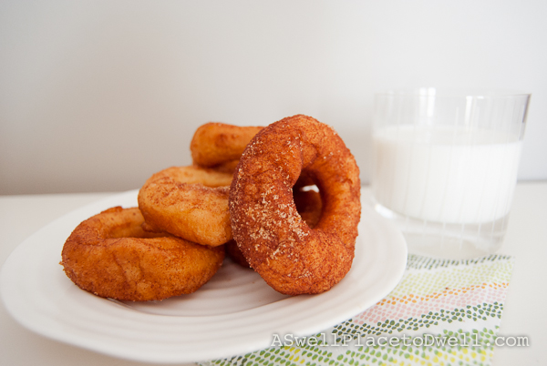 The easiest and most delicious donuts ever!