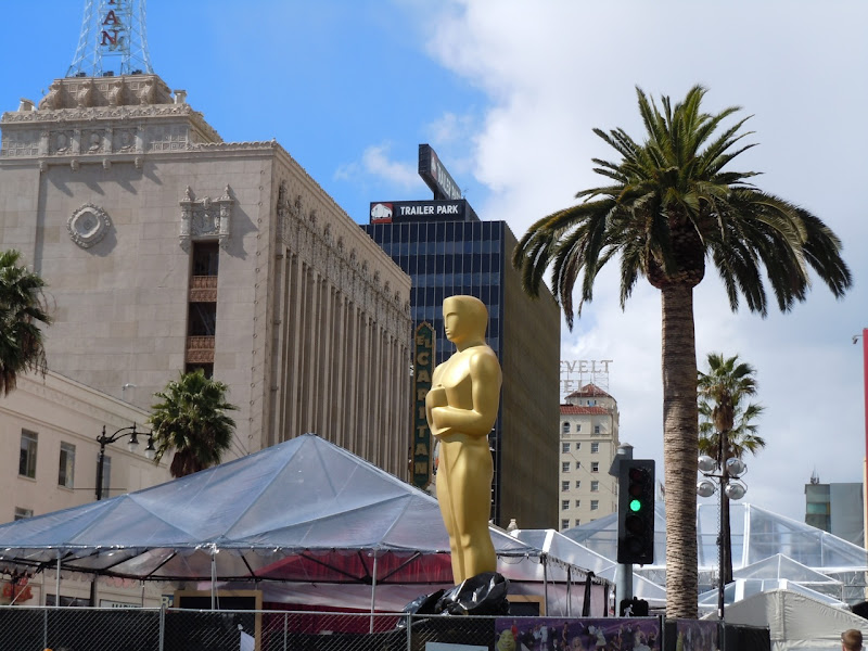 83rd Oscars Hollywood Boulevard