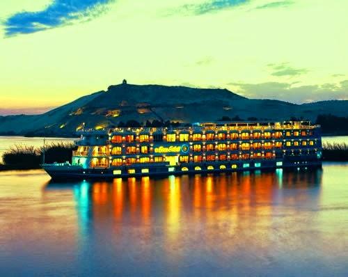 Riv Nile Vacation cruise