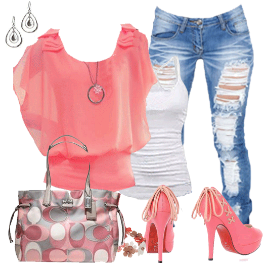 Spring And Summer Outfits Designs #1.