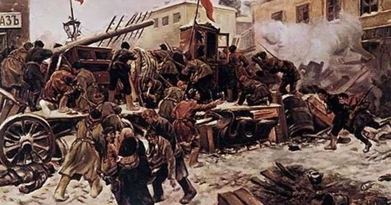 a research of the russian revolution in 1905 Russian revolution of 1905 the 1905 russian revolution was a wave of mass political and social unrest that spread through vast areas of the russian empire.