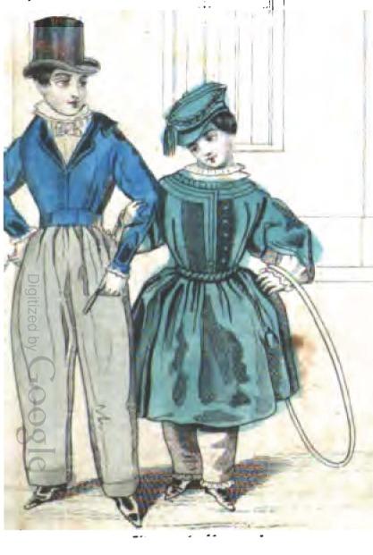 1843 03%2Bgodeys%2Bchildren1 victorian era fashion children,Childrens Clothes Victorian Era