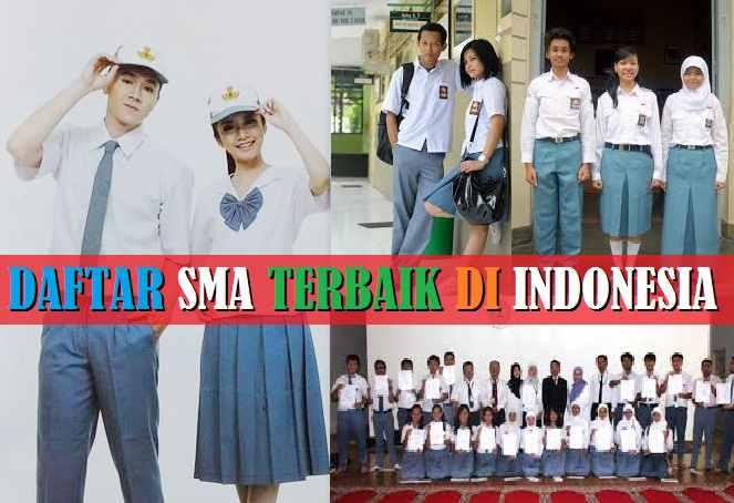 Daftar SMA Terbaik Di Seluruh Indonesia Paling Favorit Anak SD, SMP Versi Depdiknas