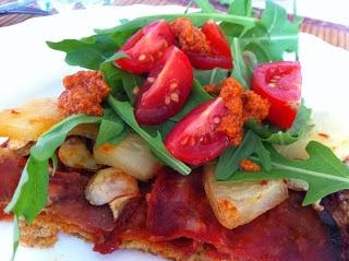 Sprød LCHF-pizza