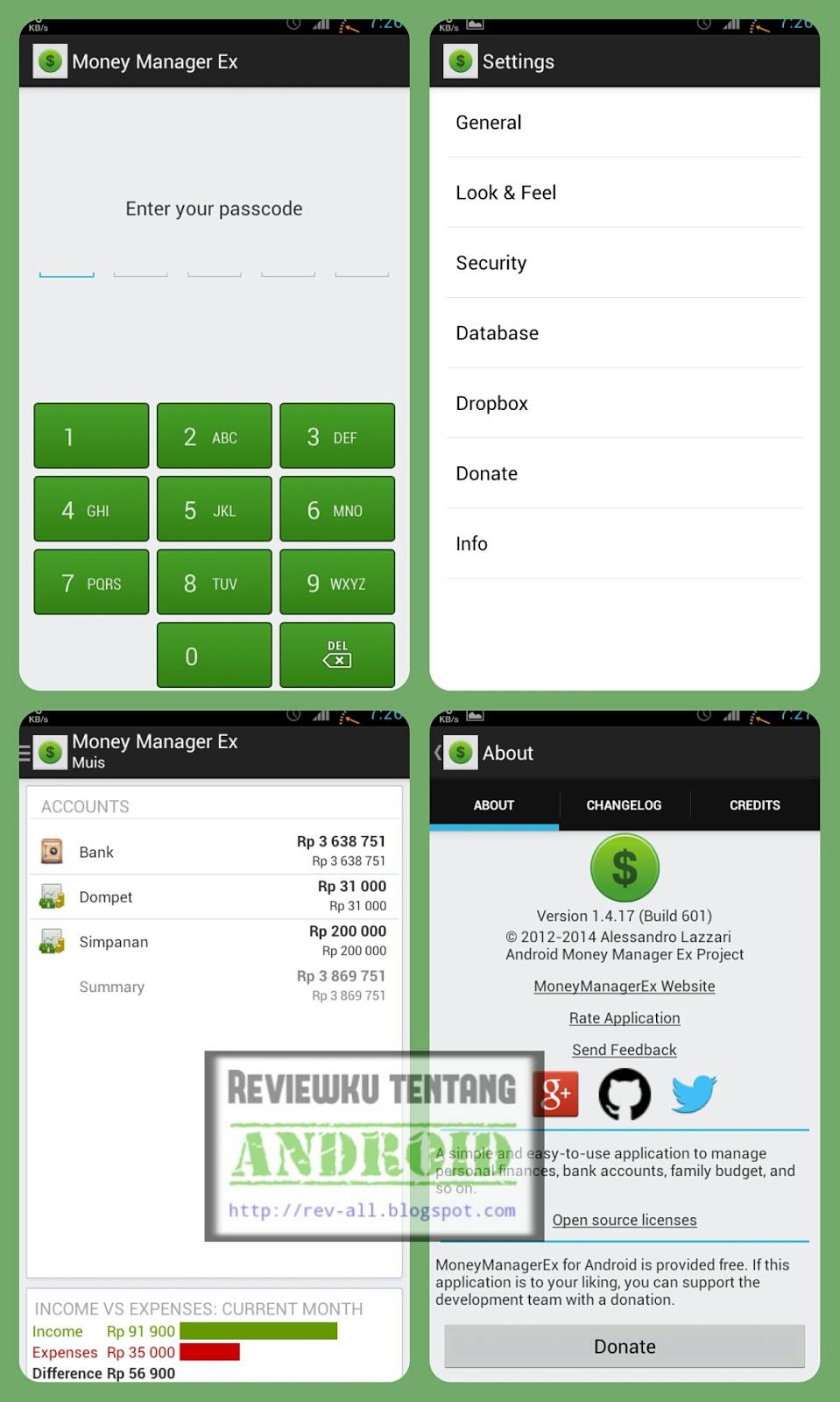 Screenshot tampilan aplikasi MONEY MANAGER EX - Pengatur keuangan untuk perangkat android gratis yang bagus (rev-all.blogspot.com)