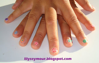 Nails ~ My Grandaughter's Lovely Nails
