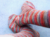 Star-Edged Socks