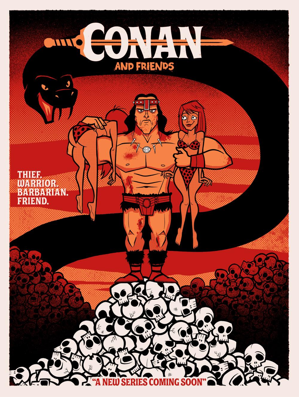 Conan barbarian cartoon porn porncraft movies