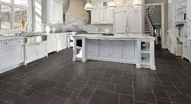 Natural Stone Floors For Kitchen : Materials for kitchen floors ayanahouse