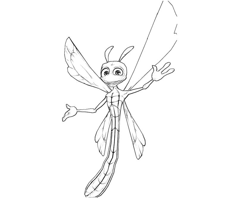 printable-sparx-the-dragonfly-cute_coloring-pages