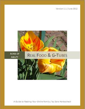 Real Food & G-Tubes