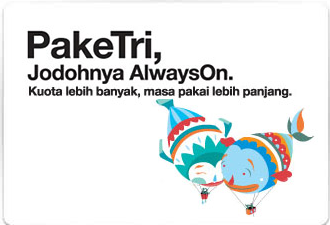 Paket Internet 3 Paketri Always On