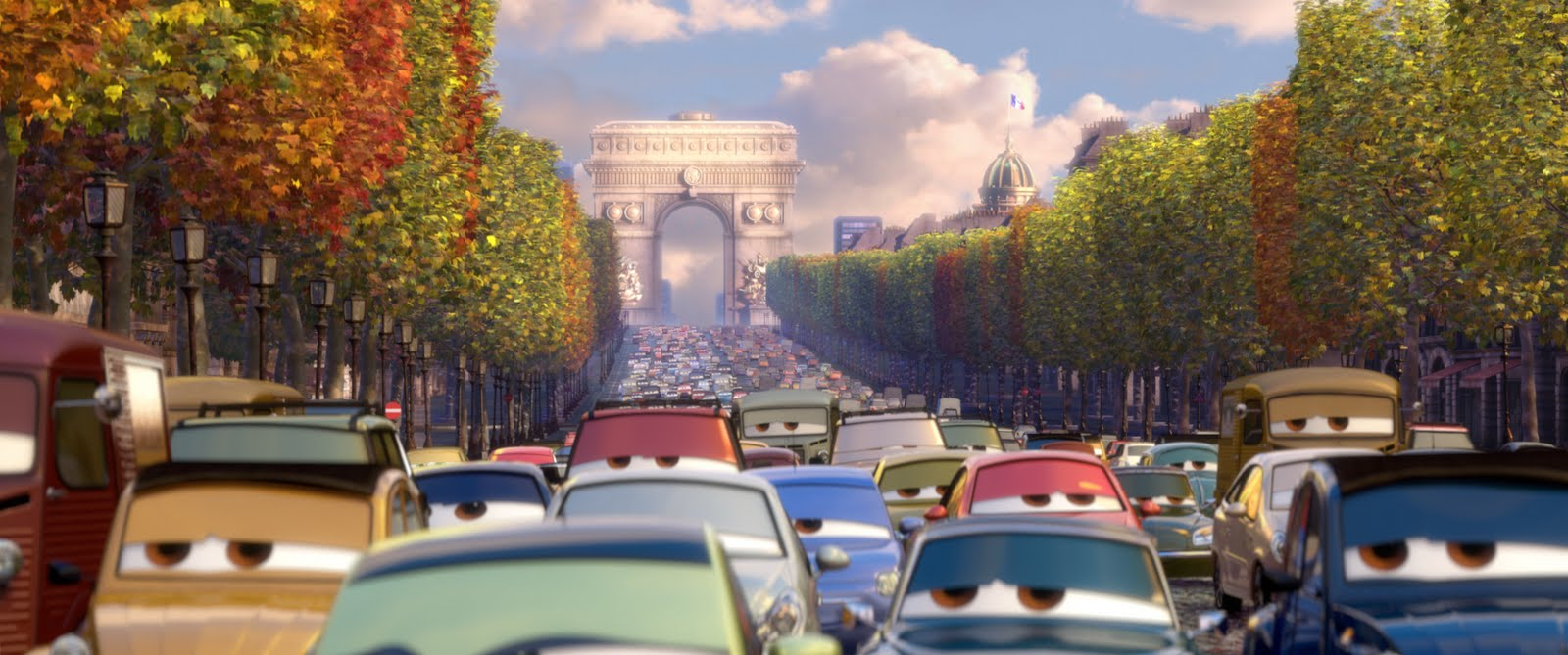 Cars 2 and Bénabar – I love French music