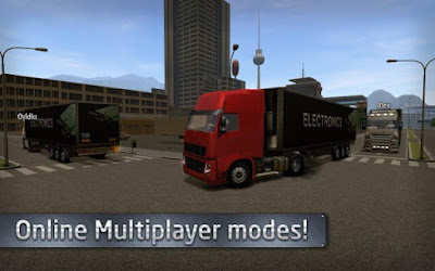 Euro Truck Driver Apk v1.0.0 (Mod Money)-screenshot-3