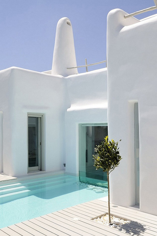 Greek islands architecture