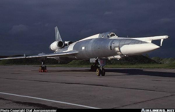 Tu-22 Blinder First Soviet Supersonic Bomber