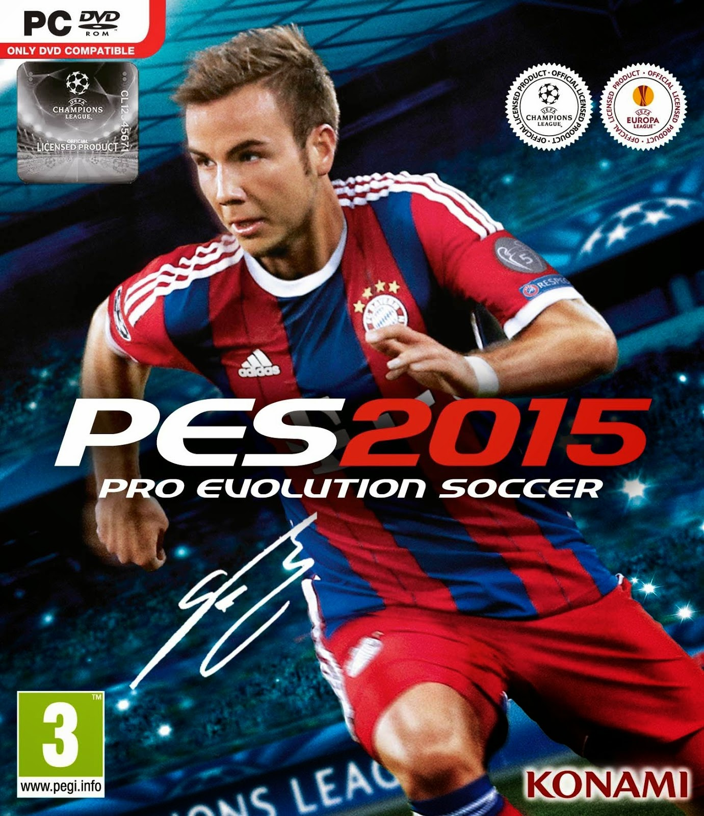 Telecharger PES 2015 PC Crack