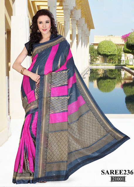 Buy Online Cotton Base Printed Saree