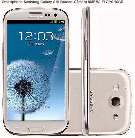 http://www.americanas.com.br/produto/114810520/smartphone-samsung-galaxy-s-iii-branco-3g-desbloqueado-vivo-camera-8mp-wi-fi-gps-16gb