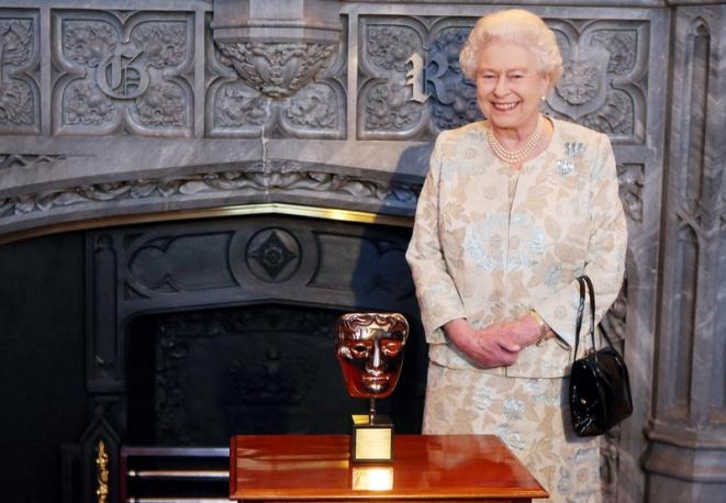Queen Elizabeth wins British Oscar