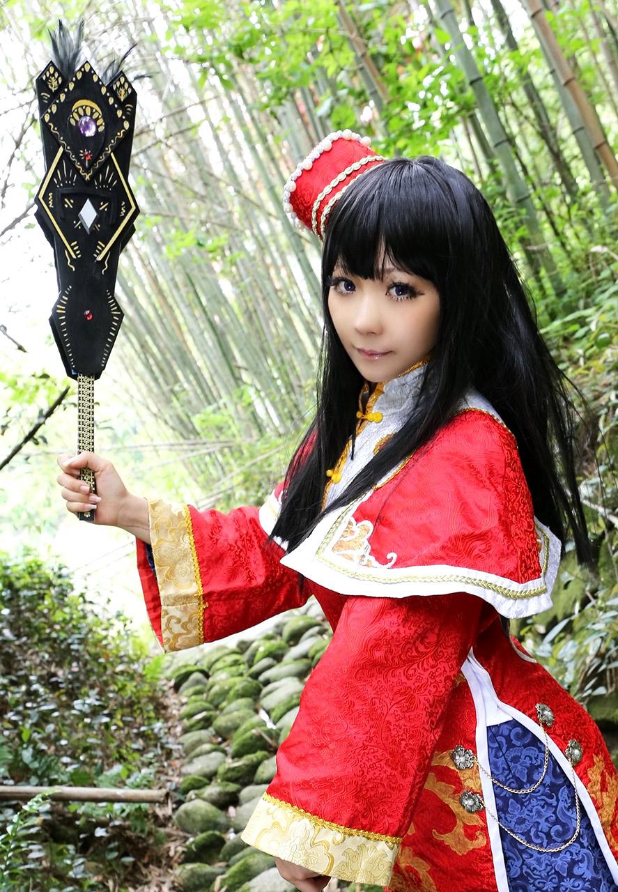 ran higurashi hot nude cosplay 03