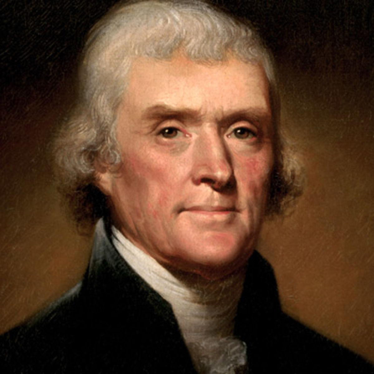 THOMAS JEFFERSON (1743-1826) AMERICAN FOUNDING FATHER, 3rd U.S. PRESIDENT