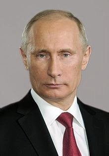 Russian President Vladimir Putin Unseats Barack Obama on Forbes Magazine's List of Powerful People in The World